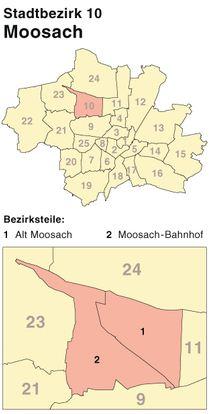 Schlüsseldienst für München-Moosach -faire Preise für Türöffnung - 24-h-Hotline