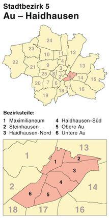 Schlüsseldienst für den Stadtbezirk 5 München-Au-Haidhausen - Türöffnung ohne Schäden - kostenlose - kostenlose Notrufnummer