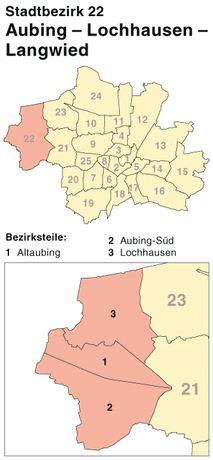 Schlüsseldienst in den Stadteilen München-Aubing-Lochhausen-Langwied