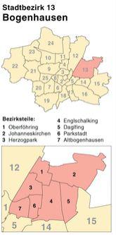 Schlüsseldienst in München-Bogenhausen - in 30 Minuten beim Kunden - Türöffnung vom Fachmann