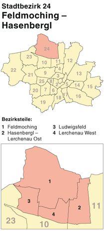 Schlüsseldienst im Stadtbezirk München-Feldmoching-Hasenbergl - umgehend Hilfe bei Schlüsselverlust - Fenster und Türen absichern