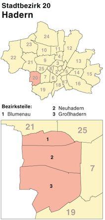 Schlüsseldienst für München-Hadern - Einbruchschutz-Beratung und Türöffung mit Spezial-Werkzeug in den Bezirksteilen Blumenau, Großhadern und Kleinhadern