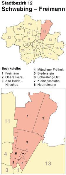Schlüsseldienst München-Schwabing-Freimann (Stadtbezirk 12) - Einbruchschutz für Münchner Immobilien - Türöffnung vom Amper Aufsperrdienst