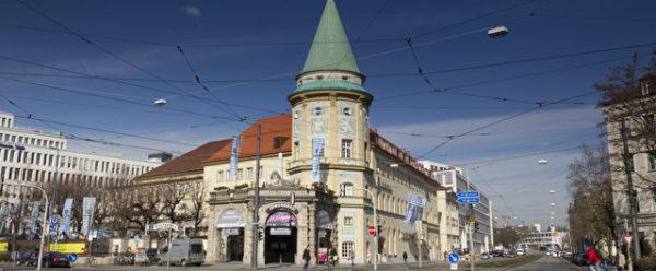 Löwenbräukeller am Stiglmaierplatz in München
