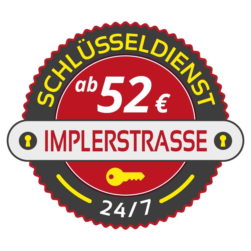 Schluesseldienst Muenchen implerstrasse mit Festpreis ab 52,- EUR