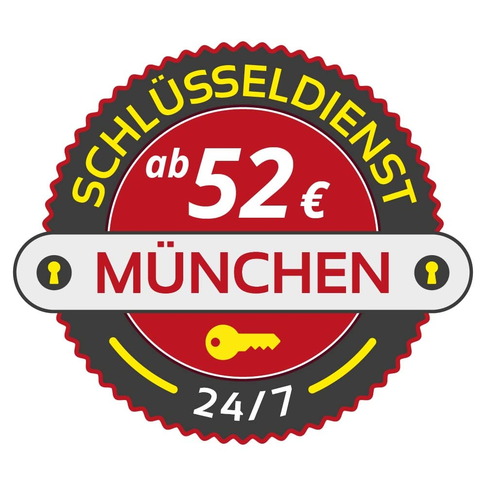 Schluesseldienst Muenchen mit Festpreis ab 52,- EUR